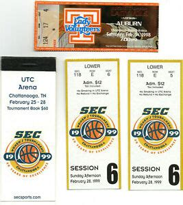 1998-2003 Tennessee Lady VOLS Ticket Stub Lot (15), PAT ...