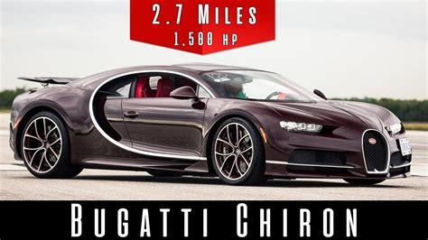 Chiron Top Speed 2018 bugatti chiron top speed test