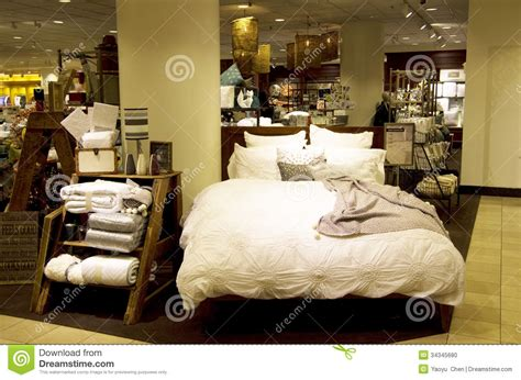 home design bedding bedding sets and home decor department store editorial image image 34345680