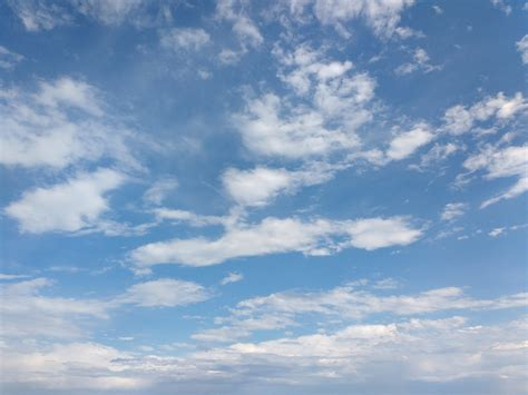 Sky with Clouds Texture Picture | Free Photograph | Photos ...