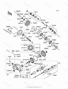 Kawasaki Atv 2007 Oem Parts Diagram For Drive Shaft