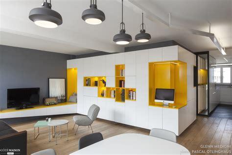 hotel avec coin cuisine rénovation appartement des ées 70 agence glenn medioni côté maison