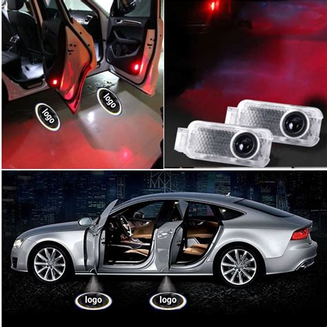 car door lights aliexpress buy 2 x car door courtesy light ghost