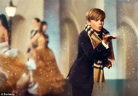 inside romeo beckham s burberry ad and the daily mail