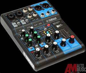 Yamaha MG06x 6 Input Stereo Mixer with Effects - Mint | Reverb