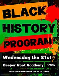 Black History Month Flyer Templates