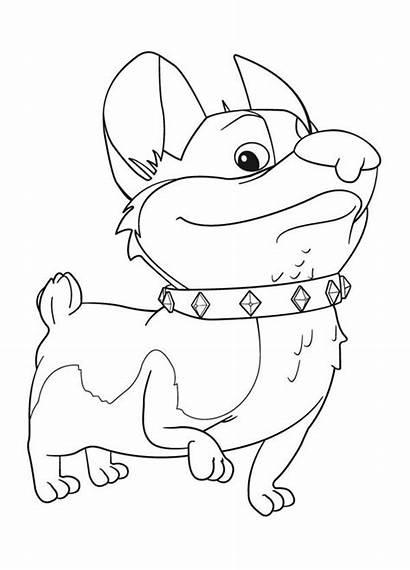 Corgi Coloring Pages Corgis Mike Printable Dog
