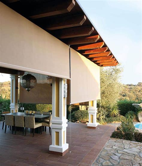 Sichtschutz Rollo Außen by Sonnenschutz F 252 R Ihre Terrasse Komfortable Schattenspender
