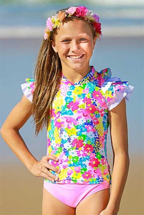 girls sun shirt set