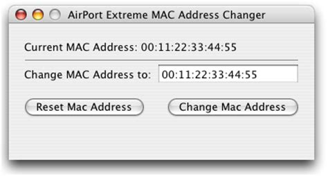 how to change mac address on iphone how to easily spoof your mac address on mac os x mac heat