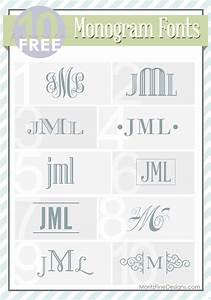 1848 best images about monogram ideas on pinterest With best monogram fonts