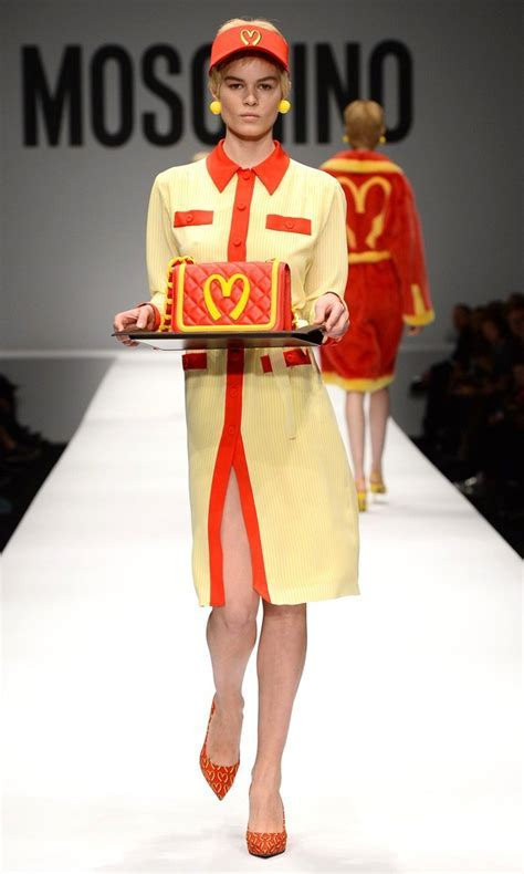 Moschino Makes A Statement With McDonald's Inspired