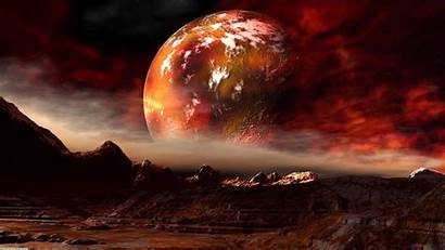 Mars Planet Background Space Backgrounds Wallpapers Planets