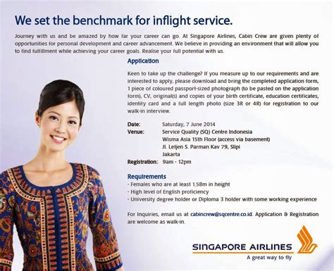 Cover Letter For Singapore Airlines | Cover Letter