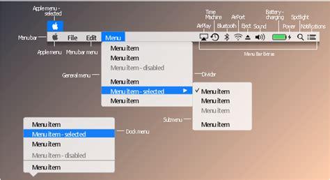 design  menu conceptdraw helpdesk design elements