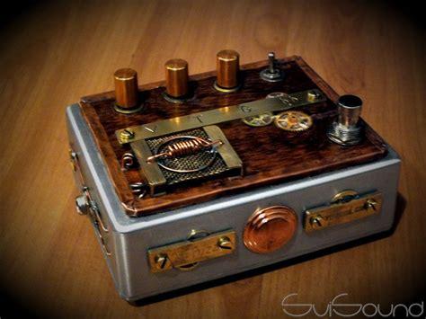 vintage steunk fuzz guitar pedal steunk guitar pedal guitar pedel in 2019