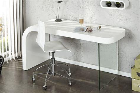 bureau blanc brillant bureau blanc laqué trendyyy com
