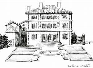 Dessin Intérieur Maison : plans de la maison dessinee ~ Preciouscoupons.com Idées de Décoration