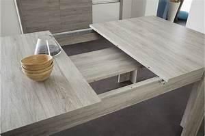 salle a manger moderne bois et laque blanche With salle À manger contemporaine avec table a manger bois et blanc
