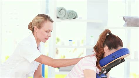 patient physiotherapist staff hd stock
