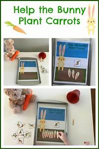 Spring Math For  Preschoolers  Help The Bunny Plant