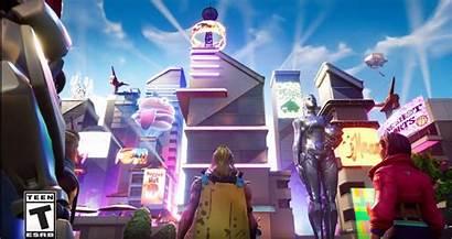 Fortnite Neo Tilted Season Map Mall Mega
