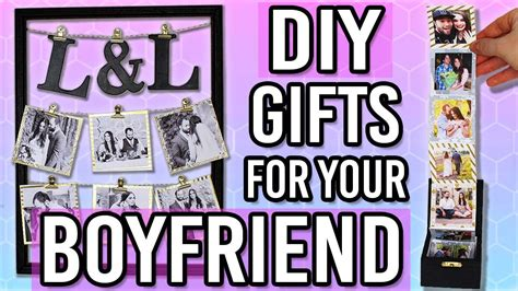 diy gift ideas   boyfriend husband thoughtful diy