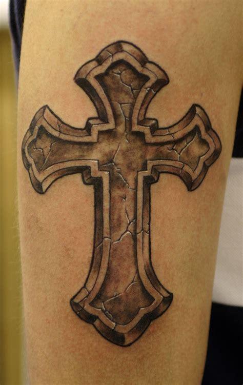 cross tattoos  man  woman tribal  celtic cross