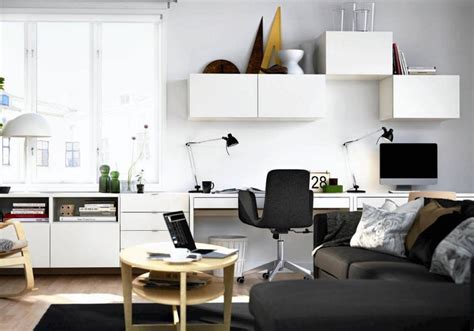 Ikea Wohn Und Arbeitszimmer by Wohnzimmer Arbeitszimmer Kombinieren Wohn Design