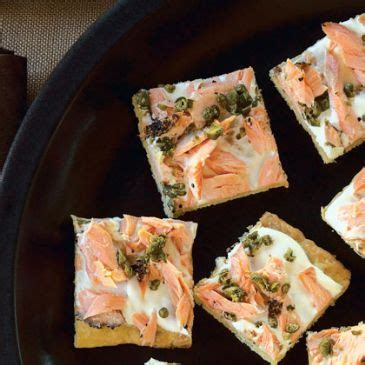 german canapes smoked salmon canapes recipe sparkrecipes