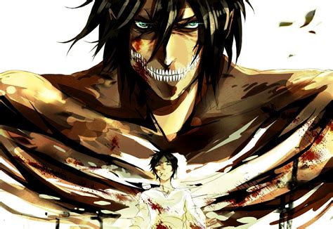 eren attack  titan wallpaper pc wallpaper wallpaperlepi