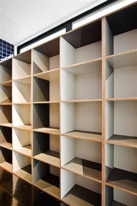 oak plywood shelves   houses  pinterest