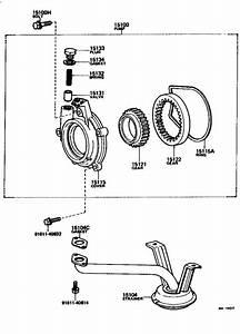 Toyota Corona Gear  Oil Pump Driven  Engine
