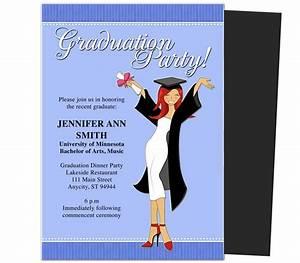 Graduation Party Invitations Templates Commencement