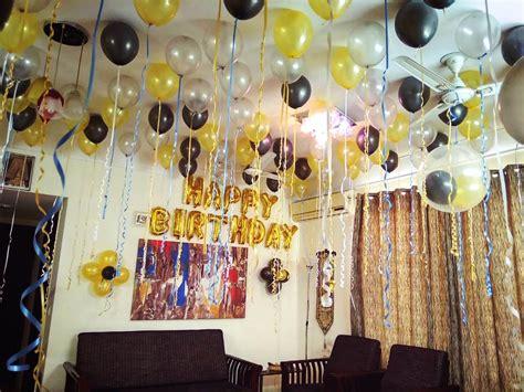 birthday decoration  home  simple birthday