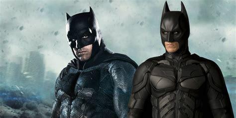 How Chris Nolan Is Influencing The Dceu Batman  Screen Rant