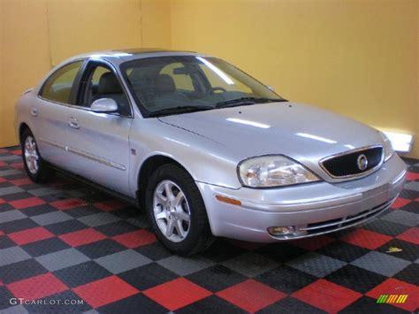 silver mercury table ls 2000 silver frost metallic mercury sable ls premium sedan