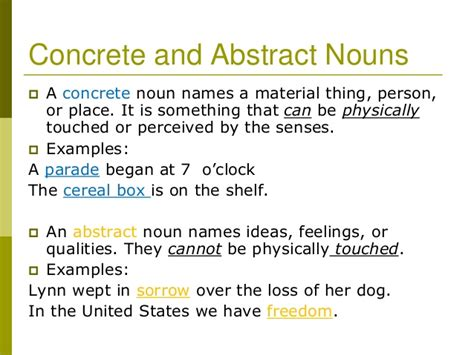 5 Types Of Nouns Powerpoint
