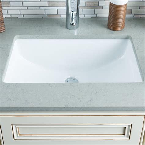 Undermount Bathroom Sink Rectangular by Hahn Ceramic Bowl Rectangular Undermount Bathroom Sink