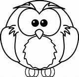 Coloring Owls Owl Printable Pages Sheet Colouring Sheets Colour Printables Cartoon sketch template