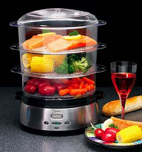 25 days of giveaways: deni stainless steel food steamer ...
