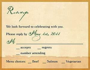 magnificent wedding invitation rsvp wording theruntimecom With how to assemble wedding invitations with rsvp