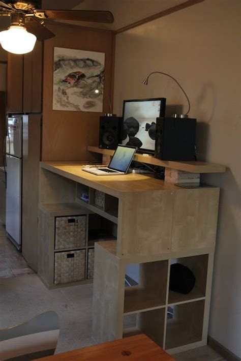 standing desk with storage 10 ikea standing desk hacks with ergonomic appeal