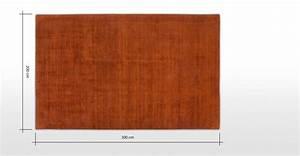 Teppich 200 X 300 : jago teppich 200 x 300 cm rostorange made com ~ Pilothousefishingboats.com Haus und Dekorationen