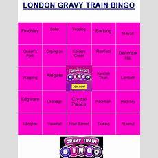 Gravy Train Bingo At Httpswwwgravytrainbingocom
