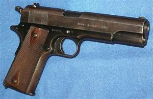 Colt Wwi Model 1911 U S  Property 45 Acp