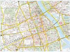 Large Warsaw Maps for Free Download and Print High