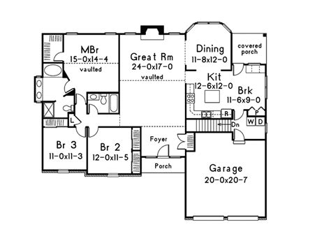 traditional floor plans mooreland traditional home plan 001d 0013 house plans