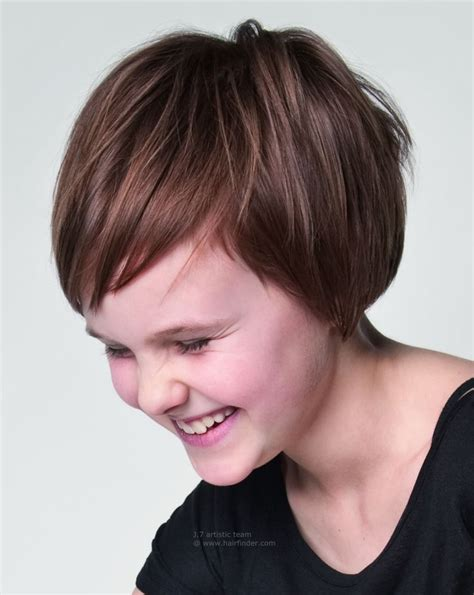 short hairstyles for kids with thick hair hairstyle for