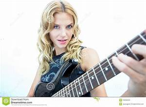 Female Rock Star Stock Images - Image: 10258454